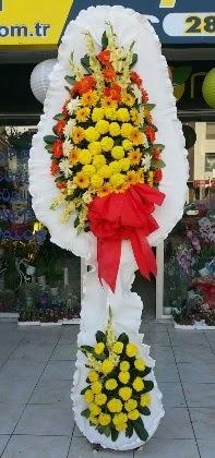 Çift katlı düğün nikah açılış çiçeği  Adana çiçek siparişi güvenli kaliteli hızlı çiçek