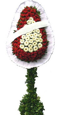 Çift katlı düğün nikah açılış çiçek modeli  Adana çiçek yolla İnternetten çiçek siparişi