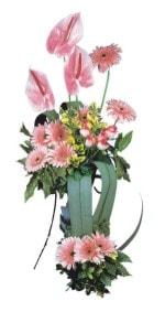 Adana çiçek siparişi güvenli kaliteli hızlı çiçek  Pembe Antoryum Harikalar Rüyasi