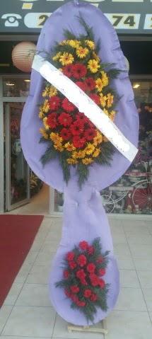 Çift katlı nikah düğüne çiçek modeli  Adana çiçek siparişi internetten çiçek siparişi