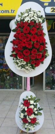 Çift katlı düğün nikah işyeri açılış çiçeği  Adana çiçek yolla İnternetten çiçek siparişi