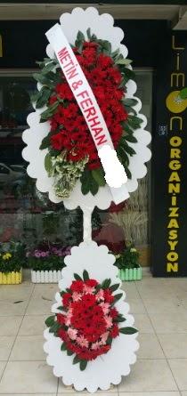 Çift katlı düğün nikah çiçeği modeli  Adana çiçek gönder çiçek siparişi sitesi