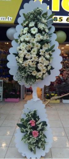 Çift katlı düğün nikah açılış çiçeği  Adana çiçek yolla çiçekçi telefonları