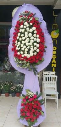 Çift katlı işyeri açılış çiçek modeli  Adana çiçek gönder ucuz çiçek gönder