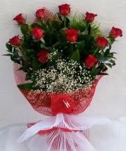 11 adet kırmızı gülden görsel çiçek  Adana çiçek yolla çiçek satışı