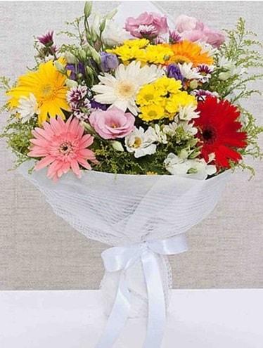 Karışık Mevsim Buketleri  Adana çiçek gönder ucuz çiçek gönder