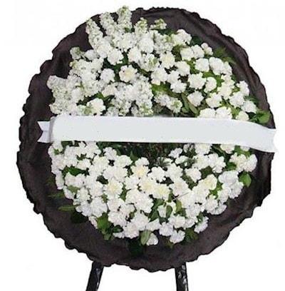 Cenaze çelengi çiçeği modelleri  Adana çiçek gönder internetten çiçek satışı