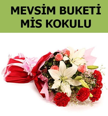 Karışık mevsim buketi mis kokulu bahar  Adana çiçek gönder ucuz çiçek gönder